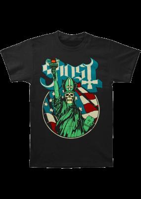 Ghost - Blue Statue T-Shirt