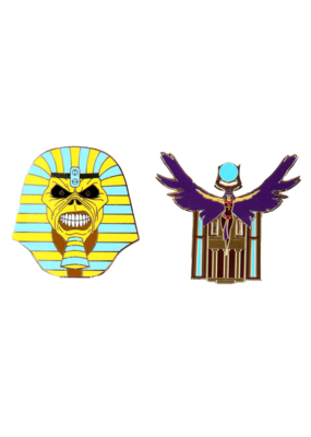Iron Maiden Legacy Of The Beast Pharoah Set Hat Pin / Lapel Pin