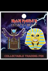 Iron Maiden Legacy Of The Beast Pharoah Set Hat Pin / Lapel Pin