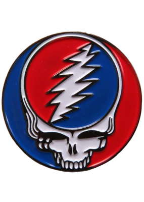 Grateful Dead Steal Your Face Hat Pin / Lapel Pin