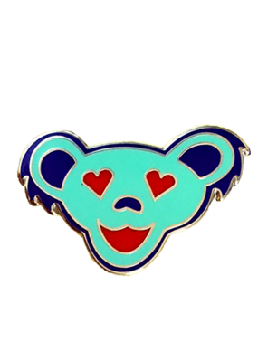 Love Bear Enamel Sea Foam Pin Hat Pin / Lapel Pin