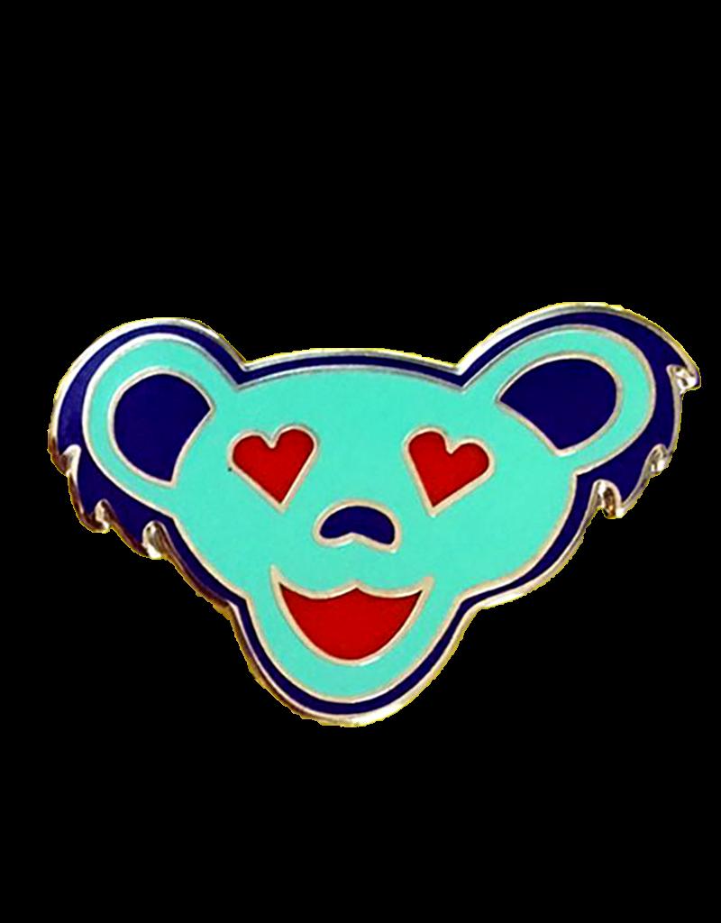 Love Bear Enamel Sea Foam Pin Hat Pin / Lapel Pin