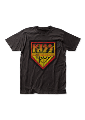 KISS - Army Coal Fitted T-Shirt