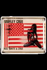 Motley Crue Red White And Crue Hat Pin/ Lapel Pin