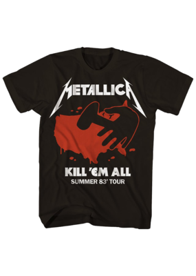 Metallica - Kill 'Em All Summer 83' Tour T-Shirt