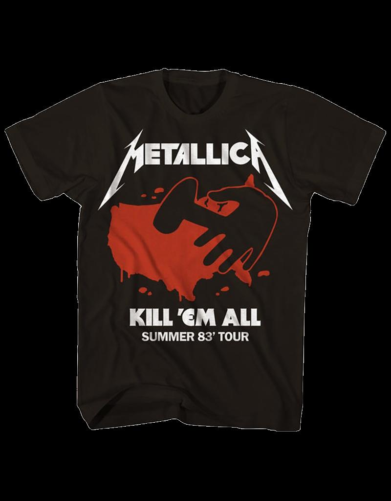 Metallica - Kill 'Em All Summer 83' Tour T-Shirt