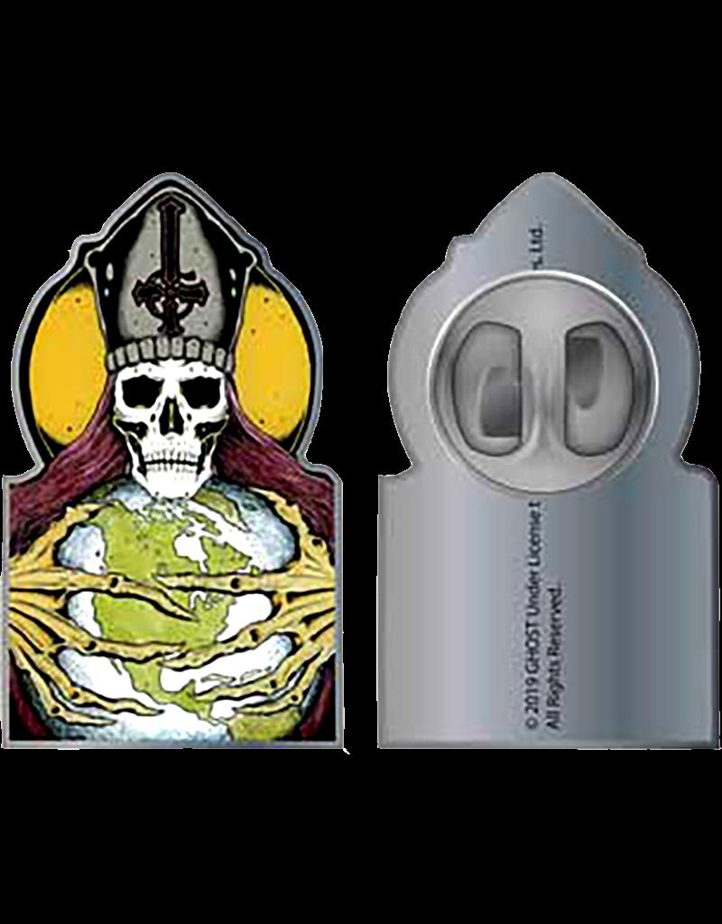 Ghost Papa Skull Face Enamel Pin Hat Pin / Lapel Pin