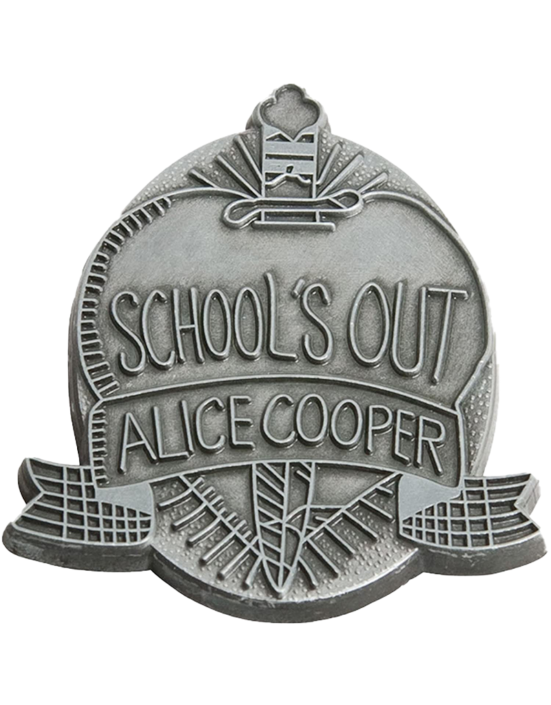 Alice Cooper Schools Out Hat Pin/ Lapel Pin