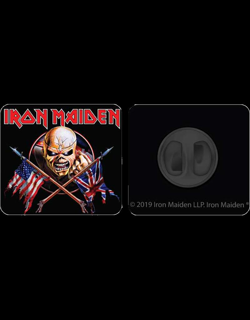 Iron Maiden Zinc Alloy Hat Pin / Lapel Pin