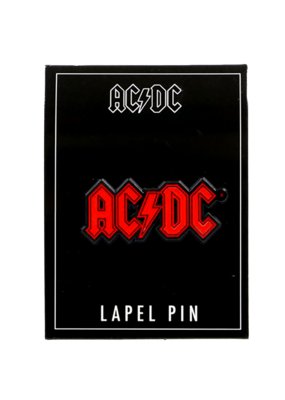 AC/DC Enamel Pin Hat Pin / Lapel Pin
