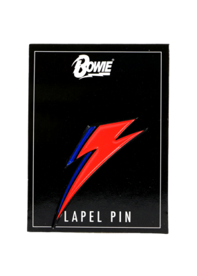 David Bowie Lightning Hat Pin / Lapel Pin