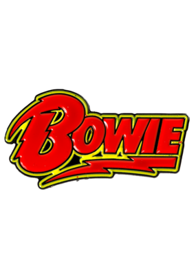 Bowie Hat Pin / Lapel Pin