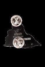 Terrapin Flyer Enamel Hat Pin / Lapel Pin