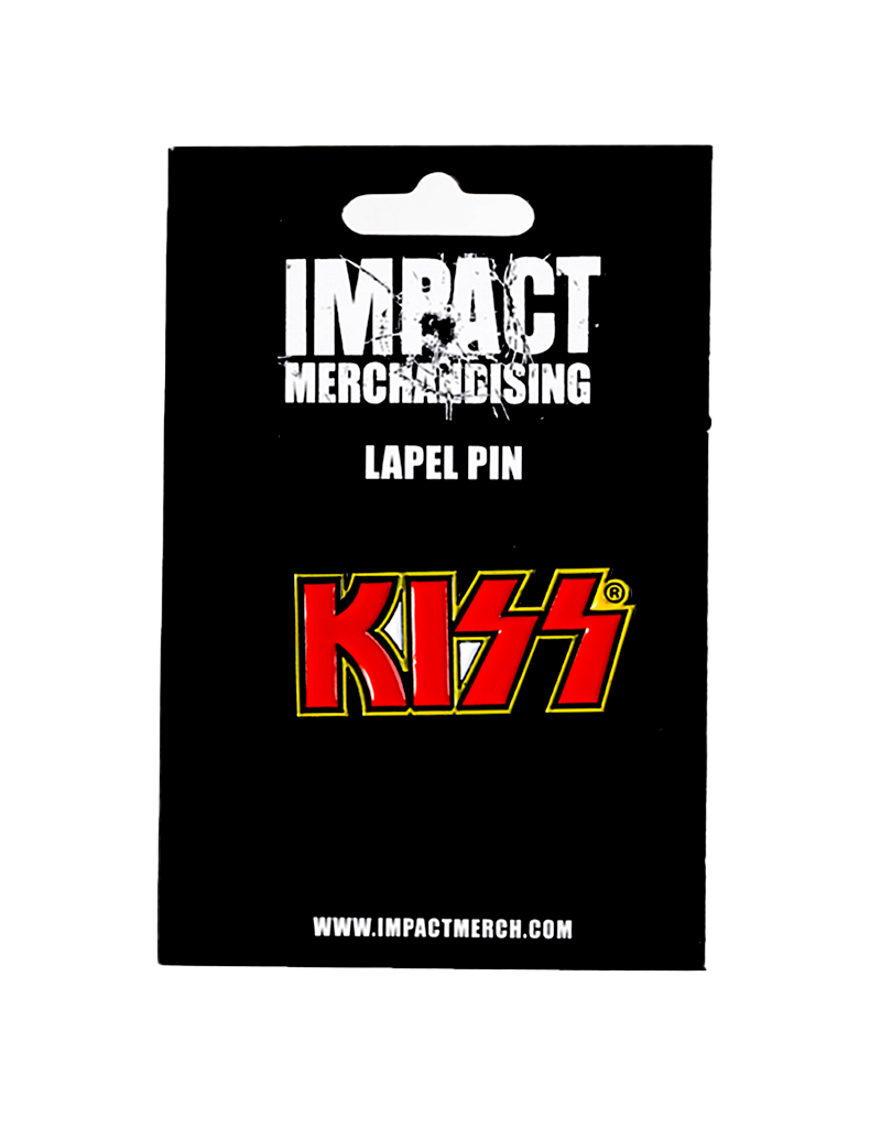 Kiss Logo Hat Pin / Lapel pin