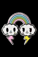 Tokidoki Pastel Pop Rainbow Hat Pin / Lapel Pin