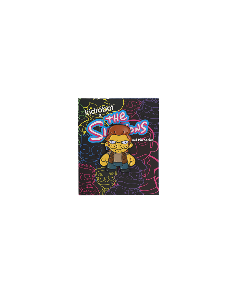 The Simpsons Snake Hat Pin / Lapel