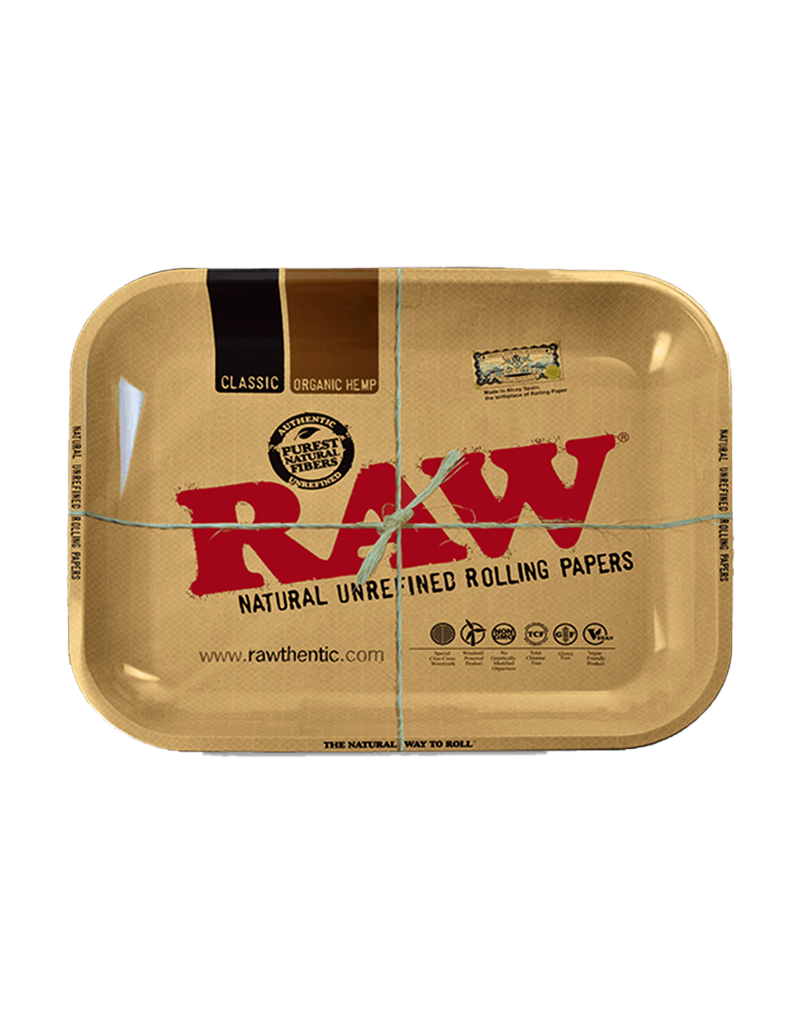RAW High Sided Metal Rolling Tray