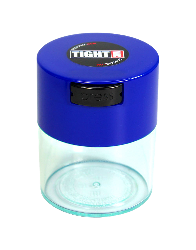 Tightvac 0.29 Liters 25g Clear With Color Top 1/2 oz.