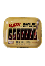 RAW Daze of the Week Rolling Tray Large