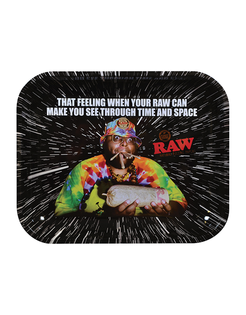 RAW Oops Metal Rolling Tray Large