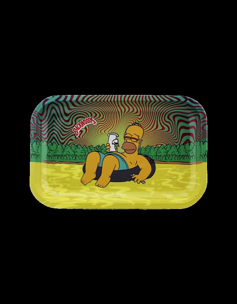 BWoods Homer Simpson Chilling Metal Rolling Tray Medium