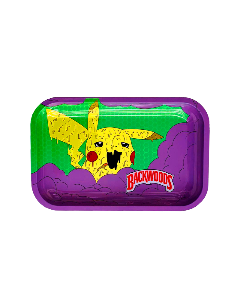 BWoods Pokemon Pika Dab Metal Rolling Tray Small