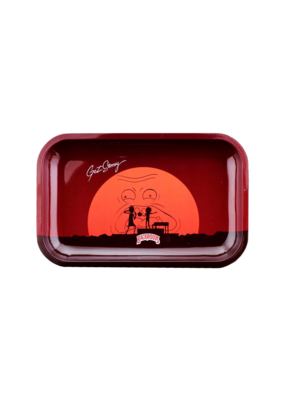 BWoods Rick & Morty Get Stoney Metal Rolling Tray Small
