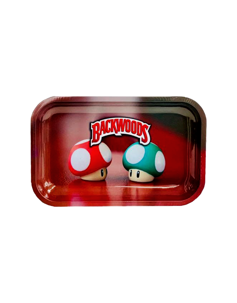 BWoods Mushroom Toad Metal Rolling Tray Small