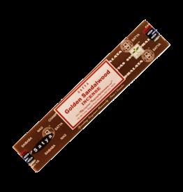 Satya Golden Sandalwood Incense 15 Gram Box