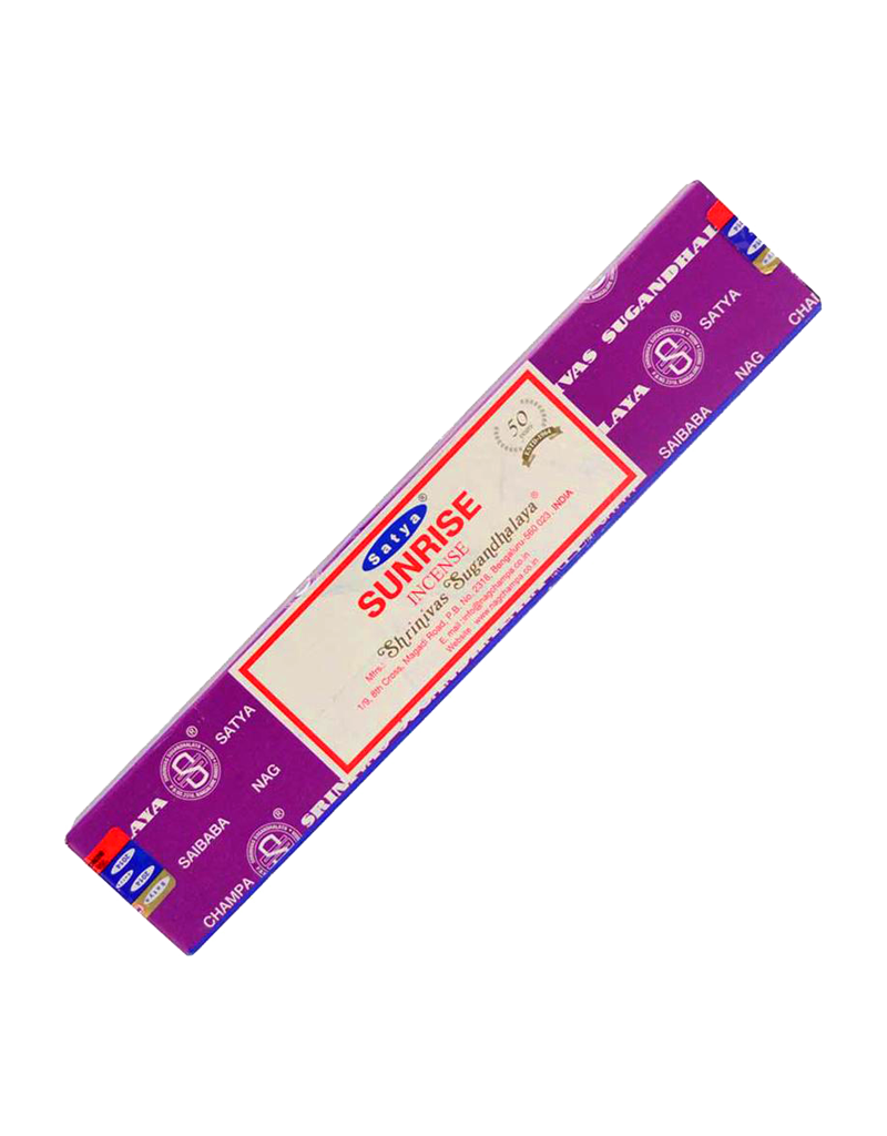 Satya Sunrise Incense 15 Gram Box