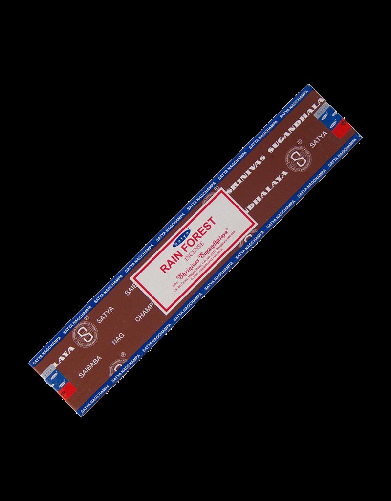 Satya Rain Forest Incense 15 Gram Box