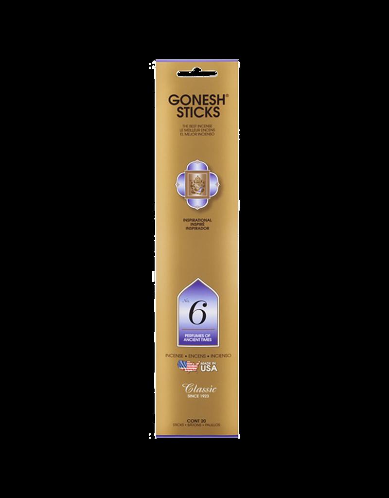 Gonesh No. 6 Incense 20 Sticks