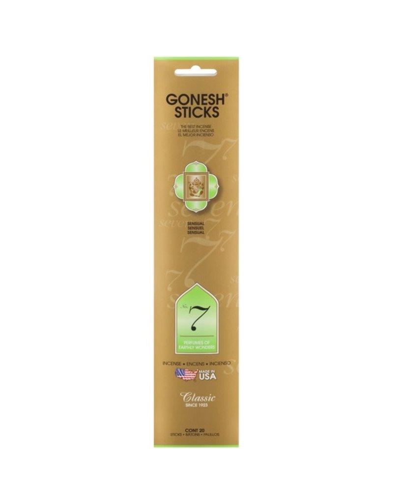 Gonesh No. 7 Incense 20 Sticks
