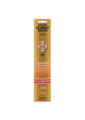 Gonesh Extra Rich Cinnamon Incense 20 Sticks