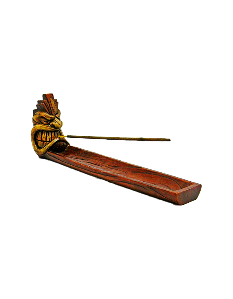 Tiki Boat Incense Burner