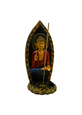 Buddha Upright Incense Burner