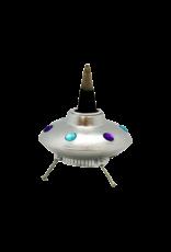 UFO Space Ship Backflow Incense Burner