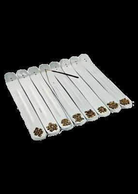 Tibetan Designs Aluminum Incense Burner