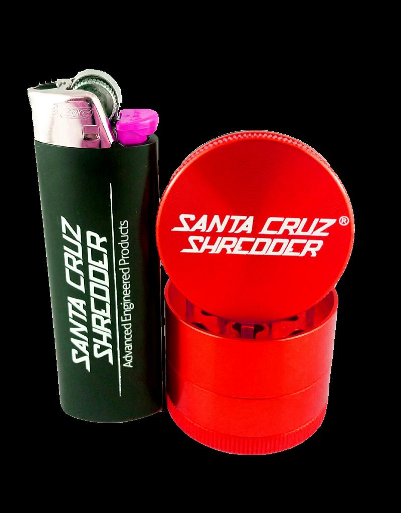 "Santa Cruz Shredder Small 4 Piece 1 5/8"" Matte Finish"