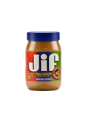 Jif Peanut Butter Stash Can