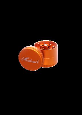 """Medicali 40mm Small Gold Grinder 1 5/8"""""""