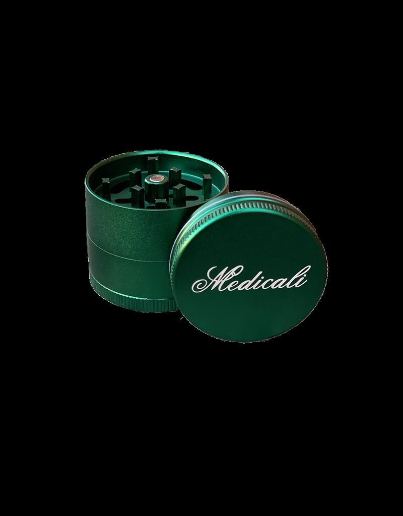 "Medicali 54mm Medium Green Grinder 2 1/8"""