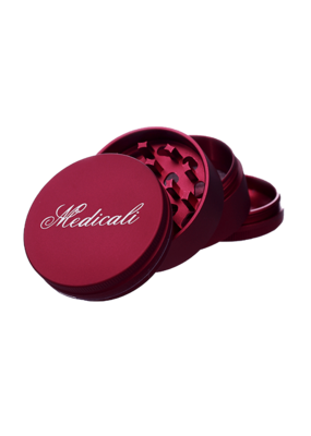 Medicali 54mm Medium Red Grinder 2 1/8""