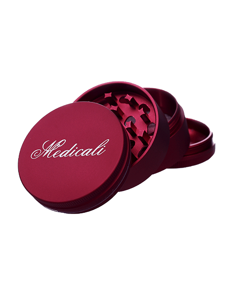 """Medicali 54mm Medium Red Grinder 2 1/8"""""""