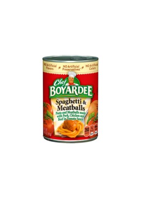 Chef Boyardee Spaghetti & Meatballs Stash Can