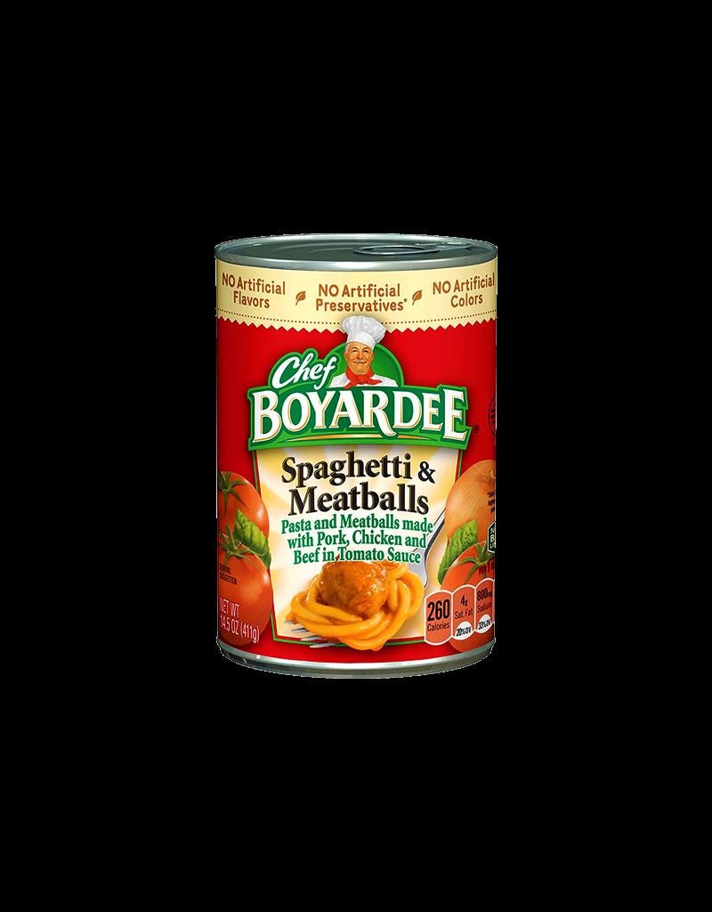 Chef Boyardee Spaghetti & Meatballs Stash Can