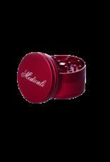 """Medicali 70mm Large Red Grinder 2 3/4"""""""