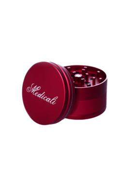 Medicali 70mm Large Red Grinder 2 3/4""