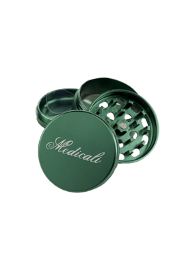 Medicali 54mm Medium Green Grinder 2 1/8""