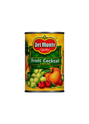 Del Monte Fruit Cocktail Stash Can